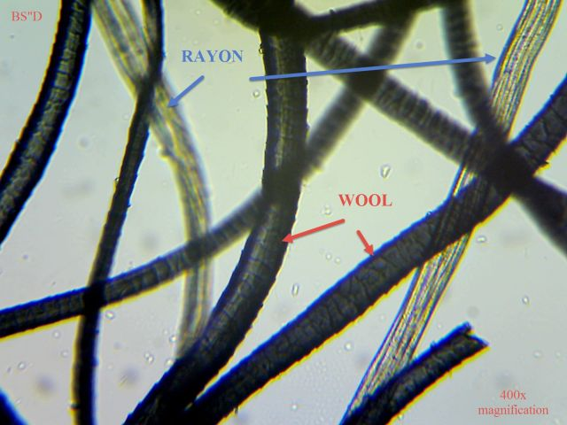 400x Wool Rayon